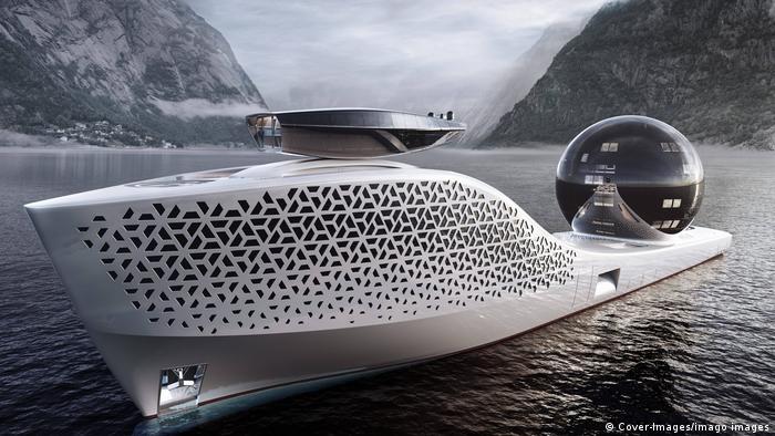 Earth 300 el superyate de propulsión nuclear que ofrecerá excursiones ecológicas