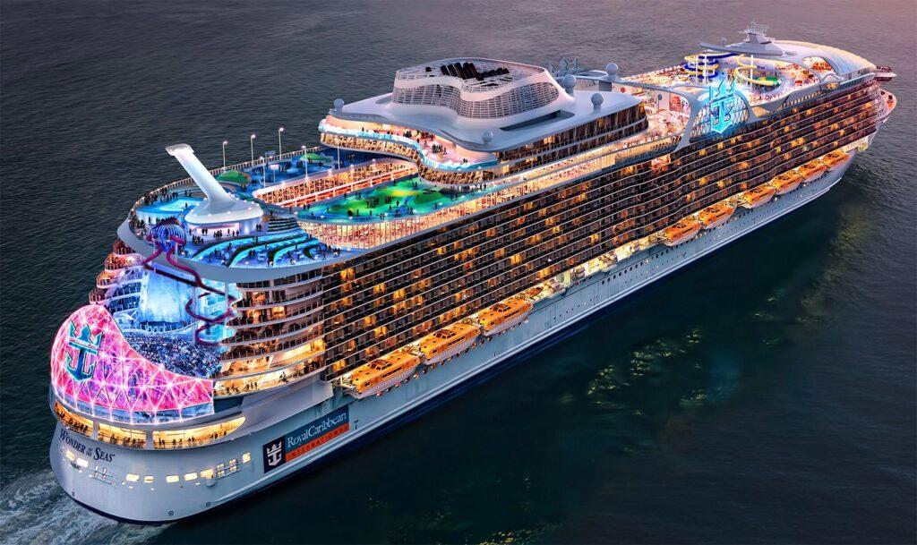 Los próximos buques de Royal Caribbean usarán un trío de fuentes de energía sostenibles